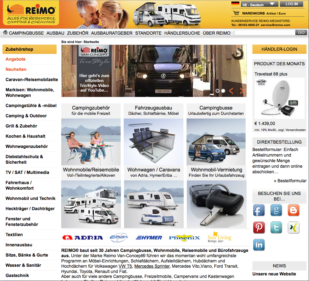 Reimo Homepage