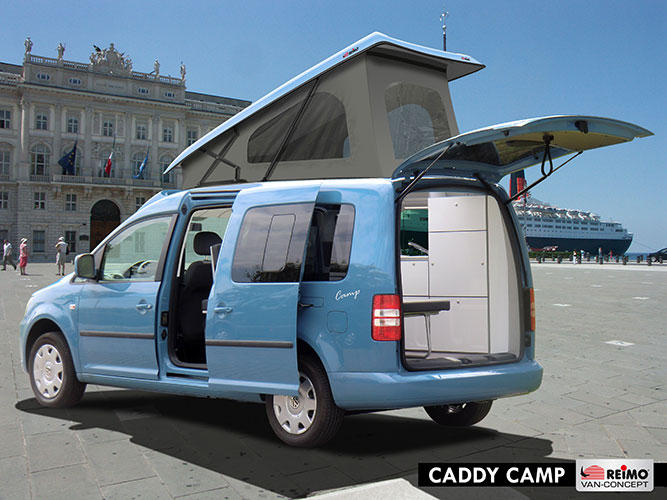 Minicamper Caddy Camp von Reimo