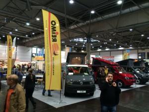 Reimo Fahrzeugstand auf der TC in Leipzig