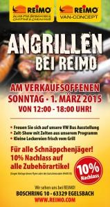Reimo Verkaufsoffener Sonntag am 1.3.15