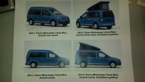 """Reimos Minicamper """"Camp"""" mit bis zu 4 Schlafplätzen"""