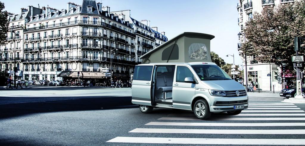 VW T6 mit Reimo City Van Ausstattung