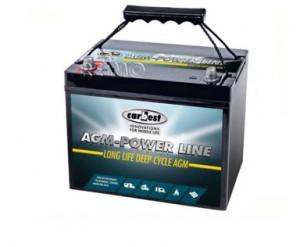 Carbest AGM Batterie von Reimo