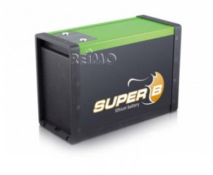 Super8 LiFePo4 Batterie
