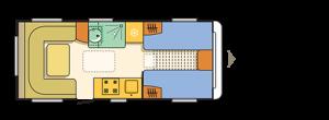 Komfortable Einzelbetten im Alpina
