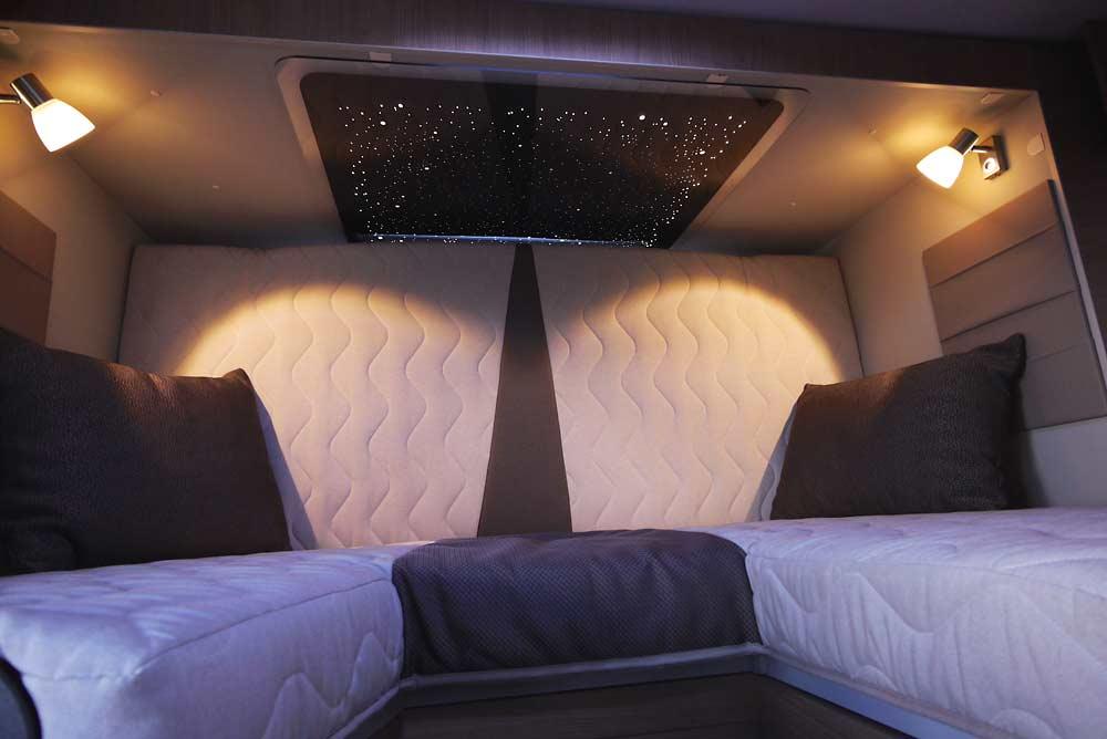 Komfortmatratze mit Lattenrost sorgt für entspannte Träume