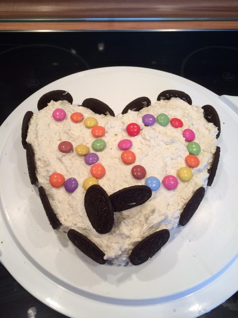 Geburtstagstorte ohne backen von Reimo