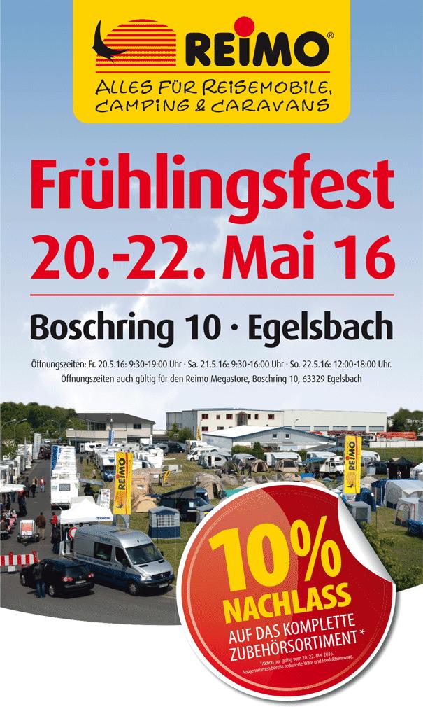 Frühlingsfest bei Reimo in Egelsbach