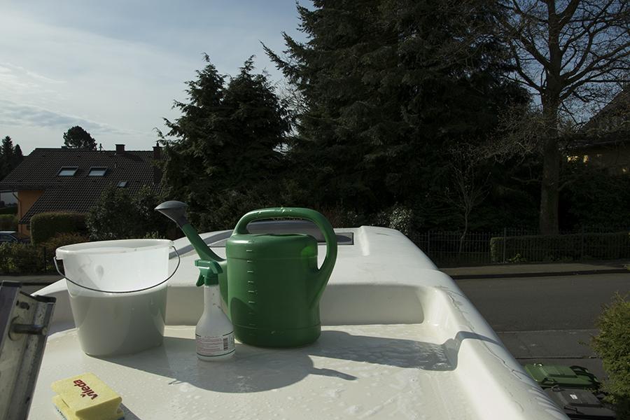 Einfache installation des Reimo Solarpanels