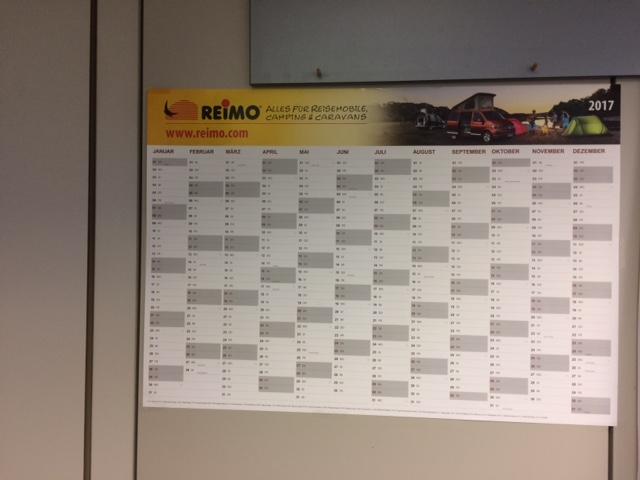 Jahresplaner Reimo 2017